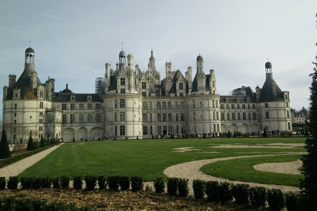 Visit the castle of Chambord-Loir-and-Cher